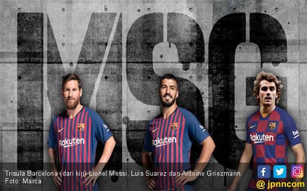 Barcelona Bisa Pakai 4-3-3 Demi Antoine Griezmann, Philippe Coutinho Dijual? - JPNN.com