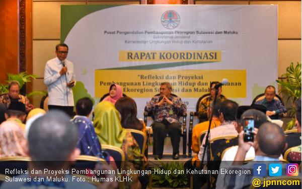 Proyeksi Pembangunan Lingkungan Hidup dan Kehutanan Ekoregion Sulawesi dan Maluku - JPNN.com