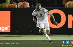 Lihat Gol Riyad Mahrez yang Dramatis di Semifinal Piala Afrika 2019 - JPNN.com