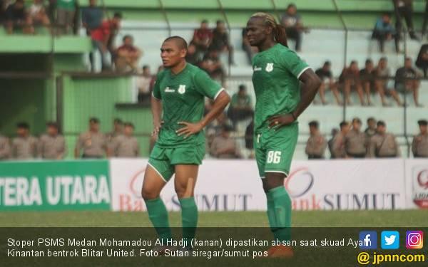 Stoper Naturalisasi PSMS Medan Dipastikan Absen Kontra Blitar United - JPNN.com