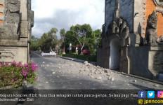 Rumah dan Bangunan di Jember Ikut Terkena Dampak Gempa di Bali - JPNN.com