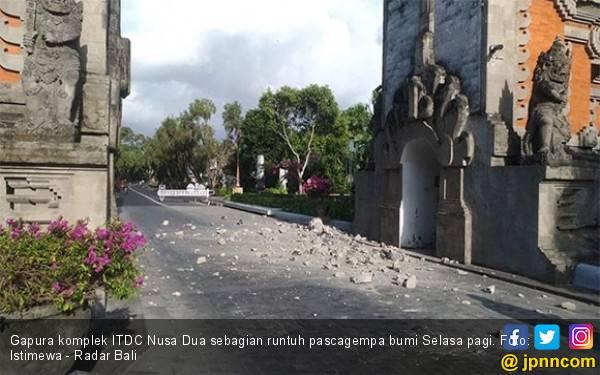 Gempa 6 SR Guncang Bali Pagi Tadi, Cepat Keluar - JPNN.com