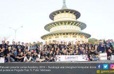 Juara Kompetisi Drone Lensa Academy 2019 Bakal Terbang ke Vietnam - JPNN.com