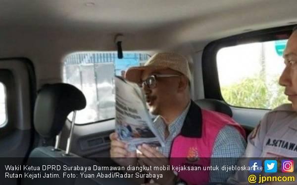 Diduga Korupsi Dana Jasmas, Giliran Wakil Ketua DPRD Surabaya Ditahan - JPNN.com