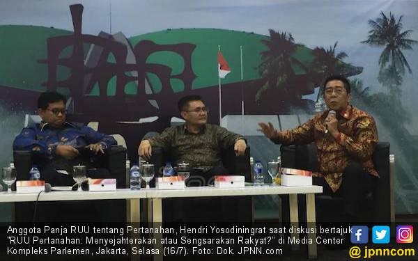 DPR Minta RUU Pertanahan Tidak Tergesa-gesa Diundangkan - JPNN.com