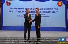 Wakil Indonesia Serahkan Kepemimpinan ASEAN SOMY ke Laos - JPNN.com