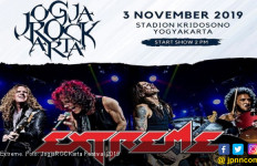 Extreme Bakal Guncang JogjaROCKarta Festival 2019 - JPNN.com