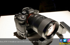Sony A7R IV Andalkan Kamera Beresolusi 61 MP - JPNN.com