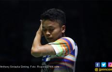 Ginting Susah Payah Masuk Perempat Final Japan Open 2019 - JPNN.com