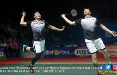 Main Lebih Enak dari Kemarin, Ahsan / Hendra Masuk 8 Besar Blibli Indonesia Open 2019 - JPNN.com