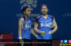 Greysia/Apriyani Gugur, Indonesia Sisakan 3 Wakil di Semifinal Taiwan Open 2019 - JPNN.com