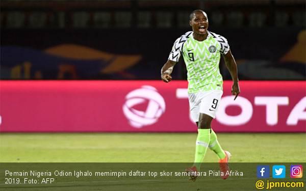 Bawa Nigeria jadi Peringkat Ketiga Piala Afrika 2019, Ighalo Pimpin Daftar Top Skor - JPNN.com