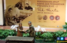 Keluarga Cendana Serahkan Dokumen Presiden Soeharto ke ANRI - JPNN.com