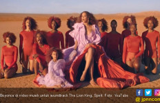Soundtrack The Lion King, Surat Cinta Beyonce untuk Afrika - JPNN.com