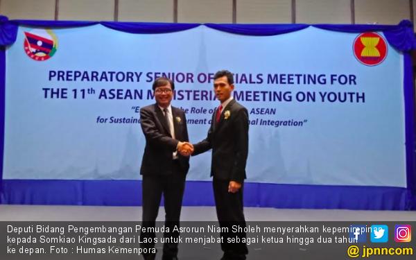Sukses Pimpin ASEAN SOMY, Asrorun Niam Serah Terima Jabatan pada Somkiao Kingsada - JPNN.com