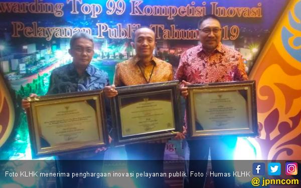 Tiga Inovasi KLHK Raih Penghargaan Pelayanan Publik dari Kemenpan-RB - JPNN.com
