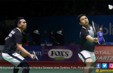 Daddies Hanya Butuh 27 Menit Tembus 16 Besar Denmark Open 2019 - JPNN.com