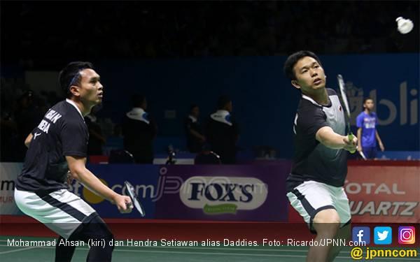 Bikin Istora Dag-Dig-Dug, Daddies Tembus Final Blibli Indonesia Open 2019 - JPNN.com