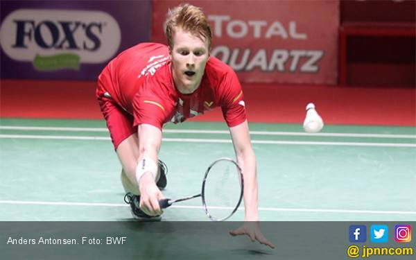 China Open: Anders Antonsen dan Carolina Marin Tembus Semifinal - JPNN.com
