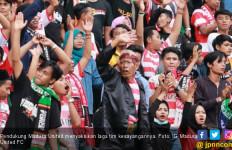 Kabar Buruk Bagi Suporter Madura United Jelang Kontra Bhayangkara FC - JPNN.com