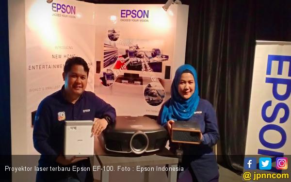Epson Menghadirkan Proyektor Laser 3LCD Terkecil di Dunia - JPNN.com