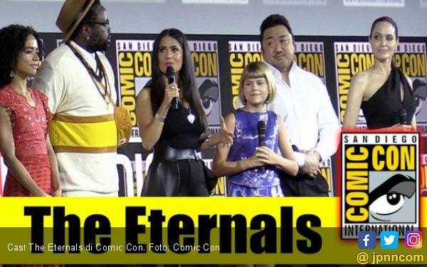 The Eternals, Tim Superhero Fase Keempat Marvel Cinematic Universe - JPNN.com