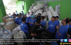 Danone-Aqua Kembangkan Ekonomi Sirkular di Labuan Bajo demi Atasi Sampah Plastik - JPNN.com