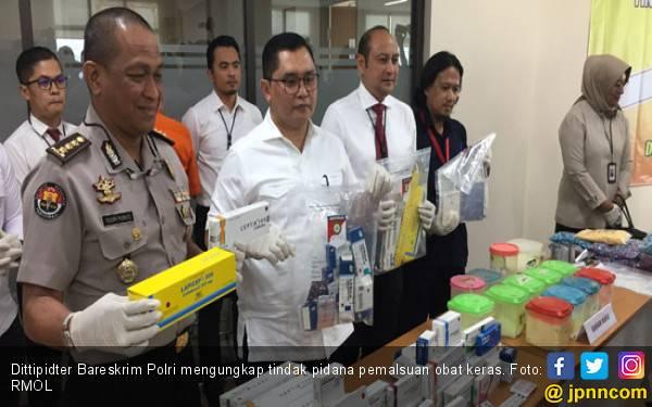 AFAF Jual Obat Palsu ke 197 Apotek, Begini Modusnya - JPNN.com