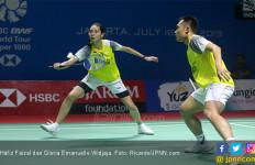 Taklukkan Ganda Nomor 1 Dunia, Hafiz / Gloria Temui Praveen / Melati di Semifinal Japan Open 2019 - JPNN.com