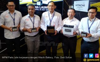 Perkuat Jaringan, MPM Parts Siap Pasarkan Aki Hitachi di Indonesia