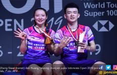 Sejak 9 Agustus 2018, Zheng Siwei / Huang Yaqiong Masih Saja Begini - JPNN.com