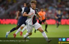 Juventus vs Inter Milan: Matthijs de Ligt Cetak Gol, Eh ke Gawang Sendiri - JPNN.com