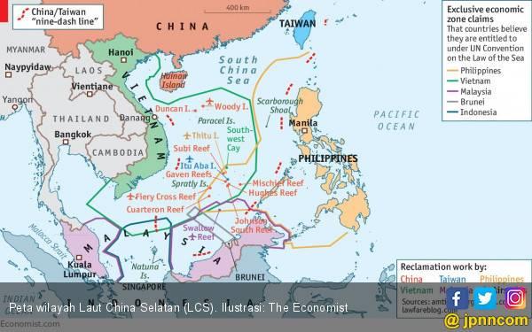 Amerika: Tiongkok Berlagak Seperti Bully di Laut China Selatan - JPNN.com