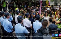 Imbas Demonstrasi, Anak Polisi Hong Kong Jadi Sasaran Perundungan - JPNN.com