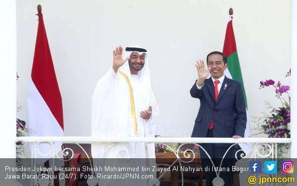 Jokowi Ternyata Punya Kedekatan dengan Putra Mahkota Abu Dhabi - JPNN.com
