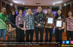 Produksi Cat Ramah Lingkungan, Propan Raya Raih 2 Penghargaan - JPNN.com