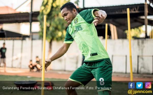 Tekad Besar Oktafianus Fernando Jelang Persebaya vs Persipura - JPNN.com