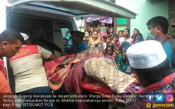 Kesal Dihardik, Keponakan Nekat Habisi Paman - JPNN.com