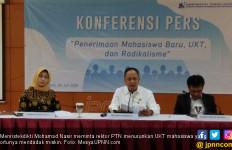 Menteri Nasir: Ortu Mahasiswa Mendadak Miskin, Rektor Wajib Turunkan UKT - JPNN.com