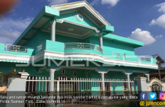Rumah Mewah Bandar Narkoba yang Dihadiahkan untuk Sang Istri Disita Polisi - JPNN.com