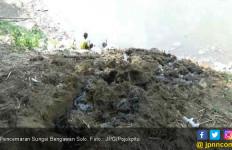 Memalukan, RPH Milik Dinas Peternakan Kotori Sungai Bengawan Solo - JPNN.com