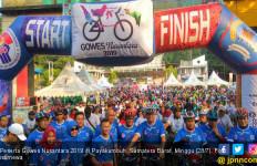 5.000 Pesepeda Antusias Ikuti Gowes Nusantara di Payakumbuh - JPNN.com