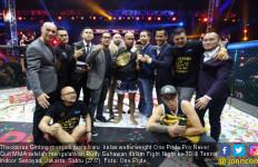 Sengit Lawan Rudy Gunawan, Theodorus Ginting Juara One Pride Pro Never Quit - JPNN.com