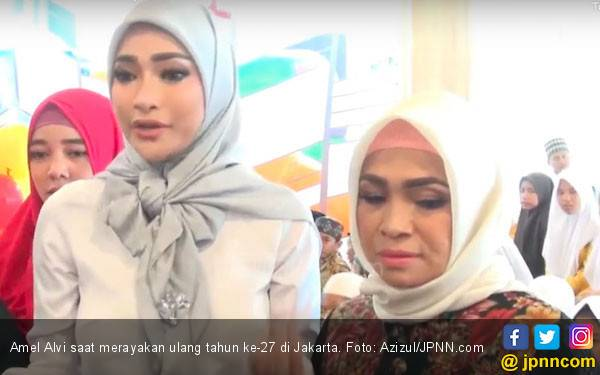 Amel Alvi Didesak Orang Tua Segera Menikah Tahun Ini - JPNN.com