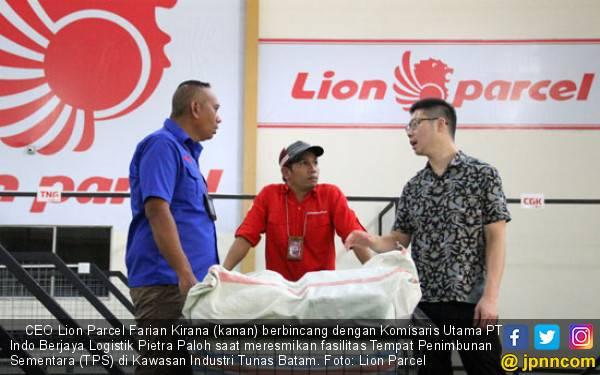 Lion Parcel Buka TPS Berkonsep One Stop Facility, Pengiriman Barang Kian Cepat dan Aman - JPNN.com