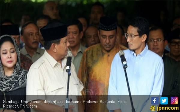 Prabowo Subianto Ingin Sandiaga Uno Kembali - JPNN.com