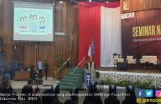 Buka Seminar GMKI dan Puspolkam, Ganjar Pranowo: Politik Adalah Mengabdikan Diri - JPNN.com