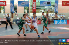 LIMA Basketball Greater Jakarta: UPH Kerja Keras Kandaskan Perbanas - JPNN.com