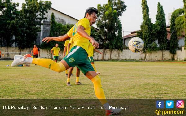 Persebaya vs Persipura: Hansamu Yama Umbar Janji - JPNN.com