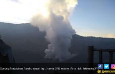 Gunung Tangkuban Parahu Erupsi Lagi, Status Berada di Level I - JPNN.com